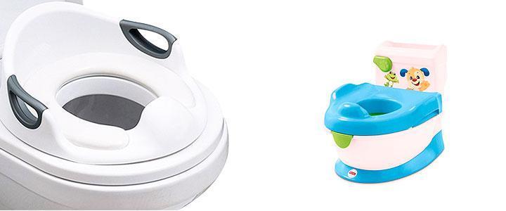 Inodoros para niños y adaptadorres infantiles